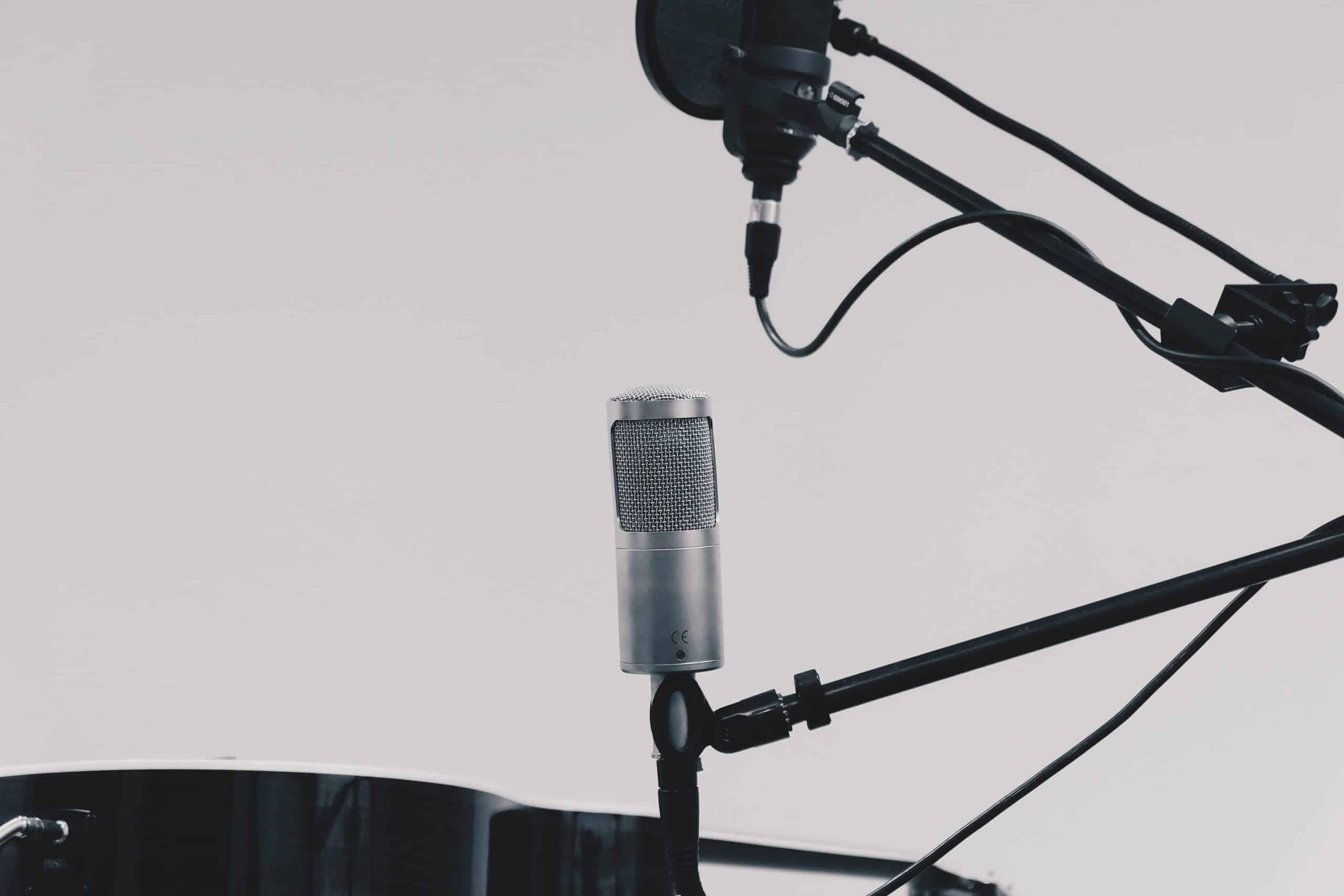Mikrofon und Audioabnahme